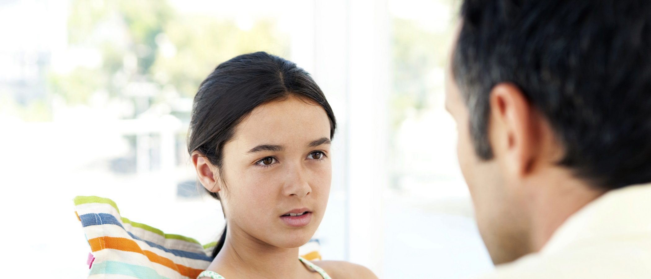 ¿Debes decir a tus hijos que tienes cáncer?