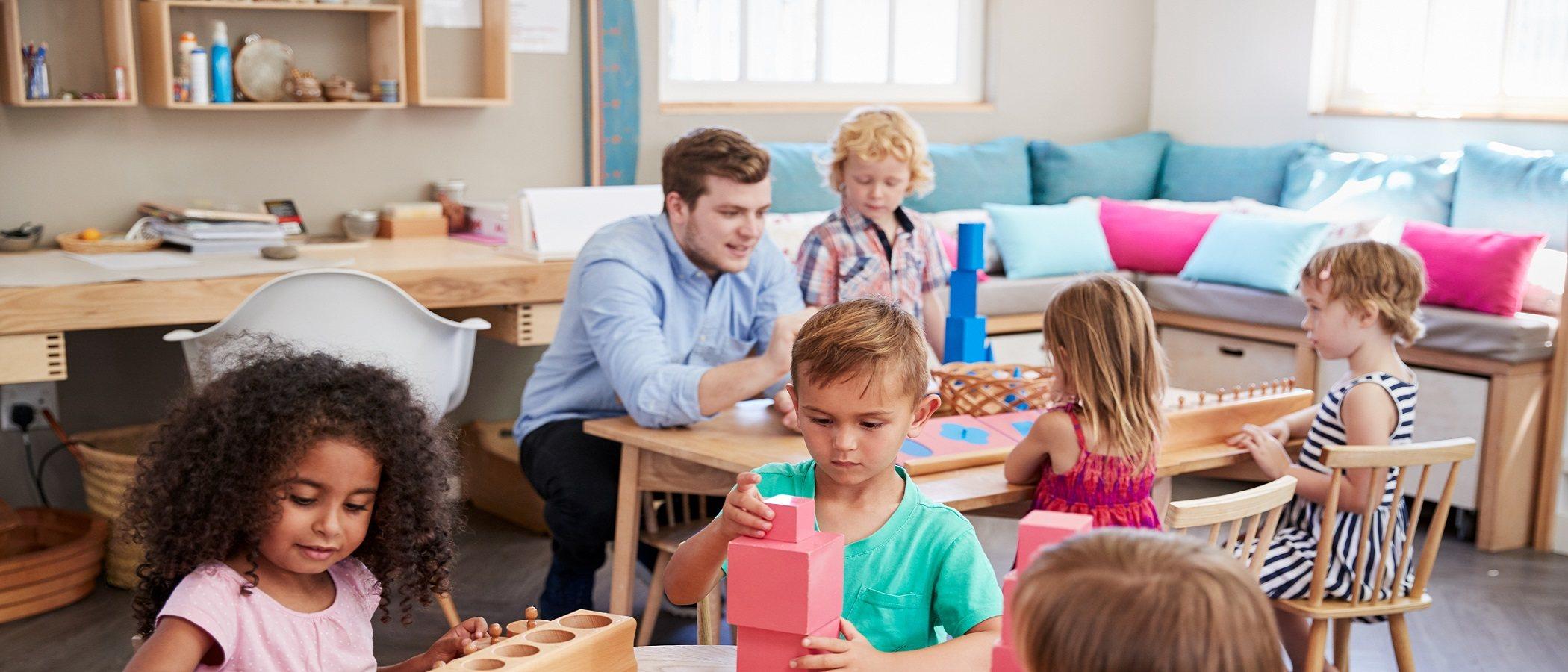 Material Montessori: cuáles son y cómo utilizarlos en casa