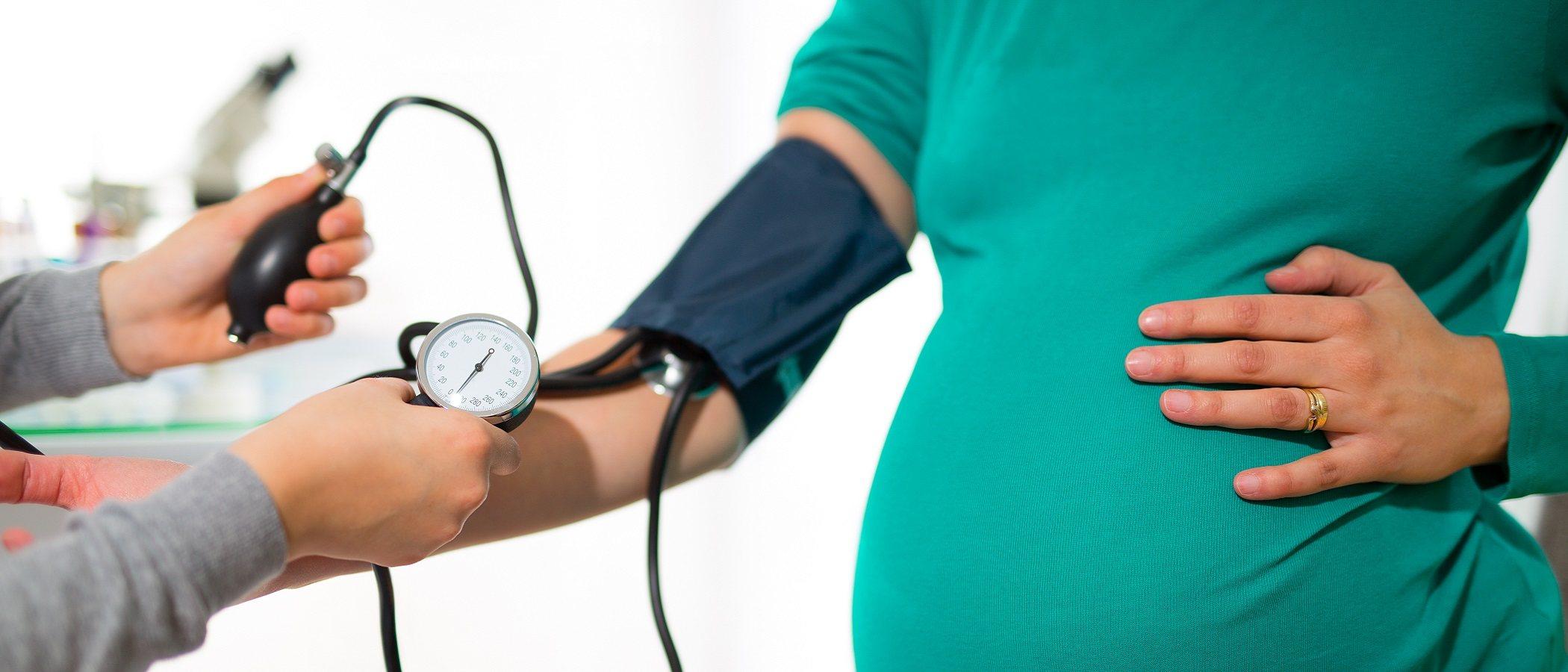 La presión arterial normal en el embarazo