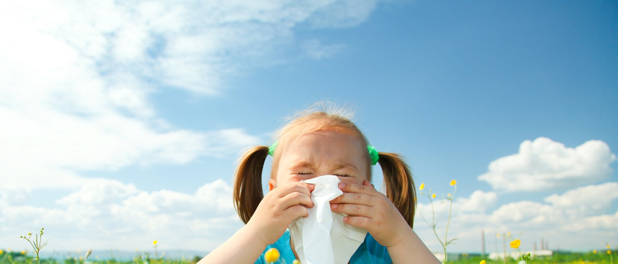 Las alergias más comunes de los niños en primavera