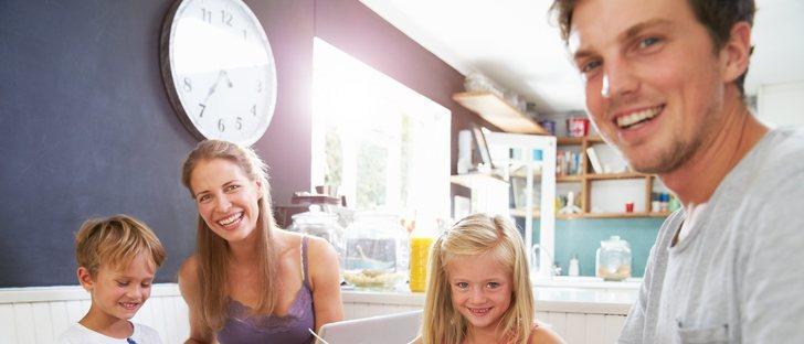 Beneficios de comer y cenar en familia