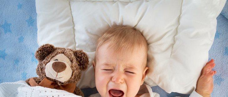 ¿Puedes culpar a la dentición de los despertares nocturnos?
