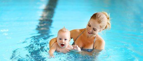 Qué es la matronatación para bebés
