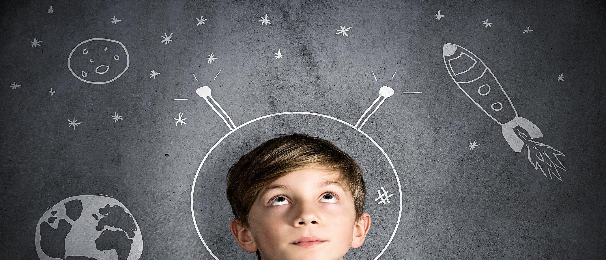 La imaginación de los niños superdotados les pueden causar miedos intensos