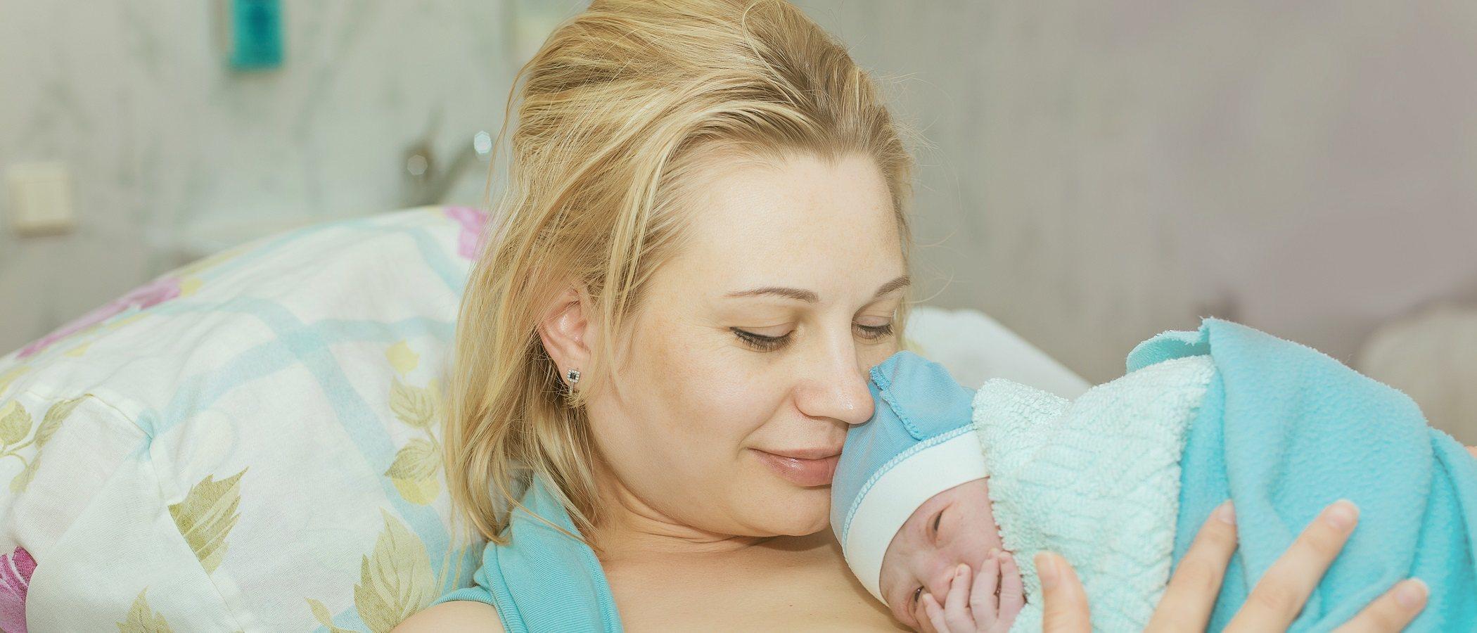 Cómo son los pujos en el parto natural