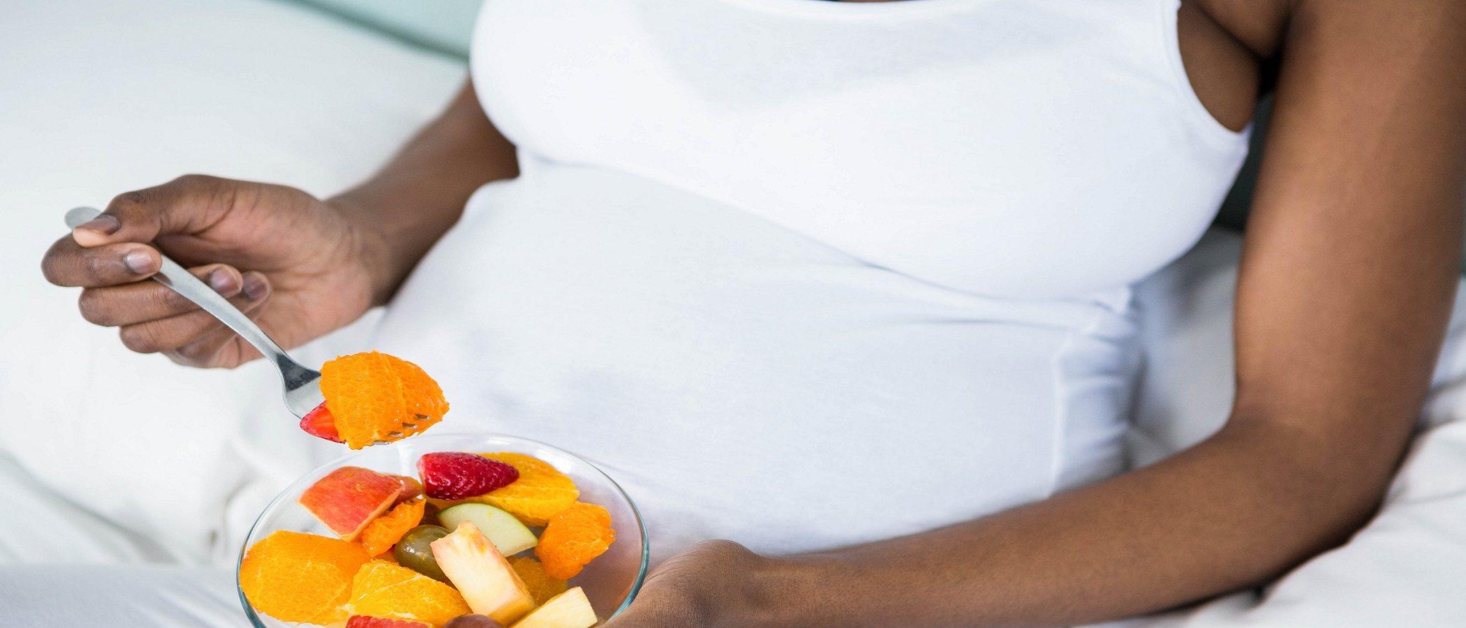 Menú semanal para embarazadas