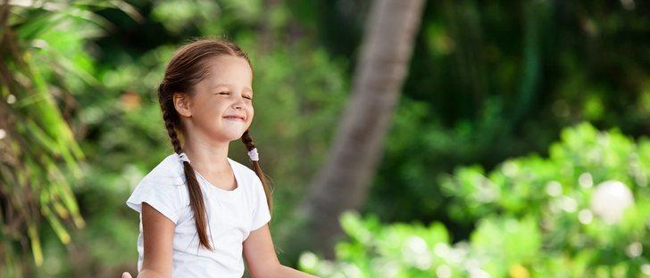 Beneficios de la meditación guiada en niños