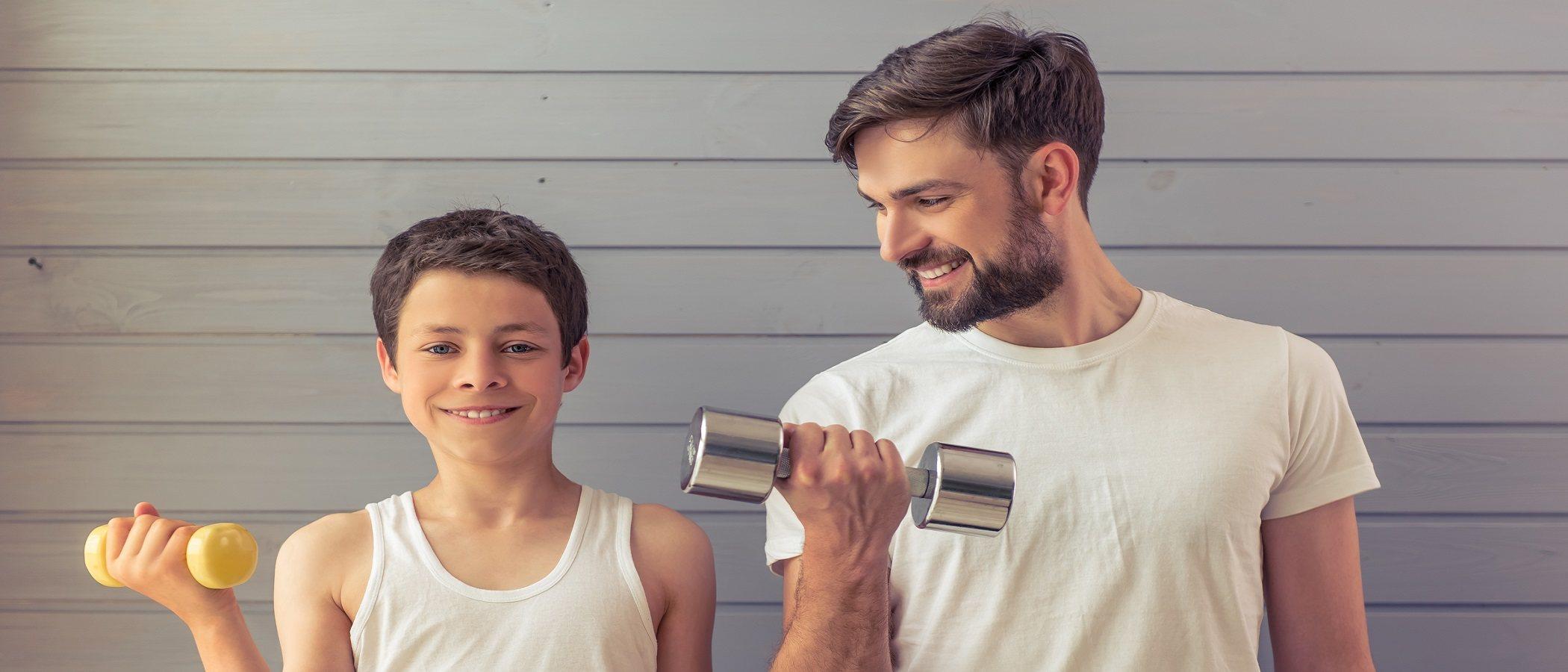 Entrenamiento de fuerza para niños
