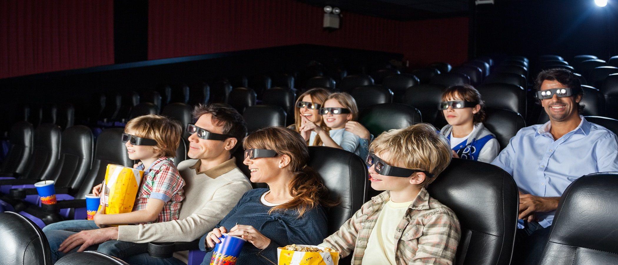 Disfruta de una sesión de cine en familia sin estrés