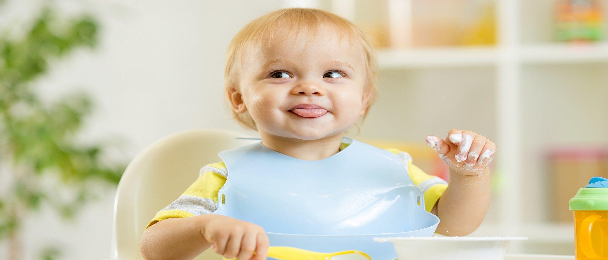 ¿Tu hijo está preparado para comer con cuchara?