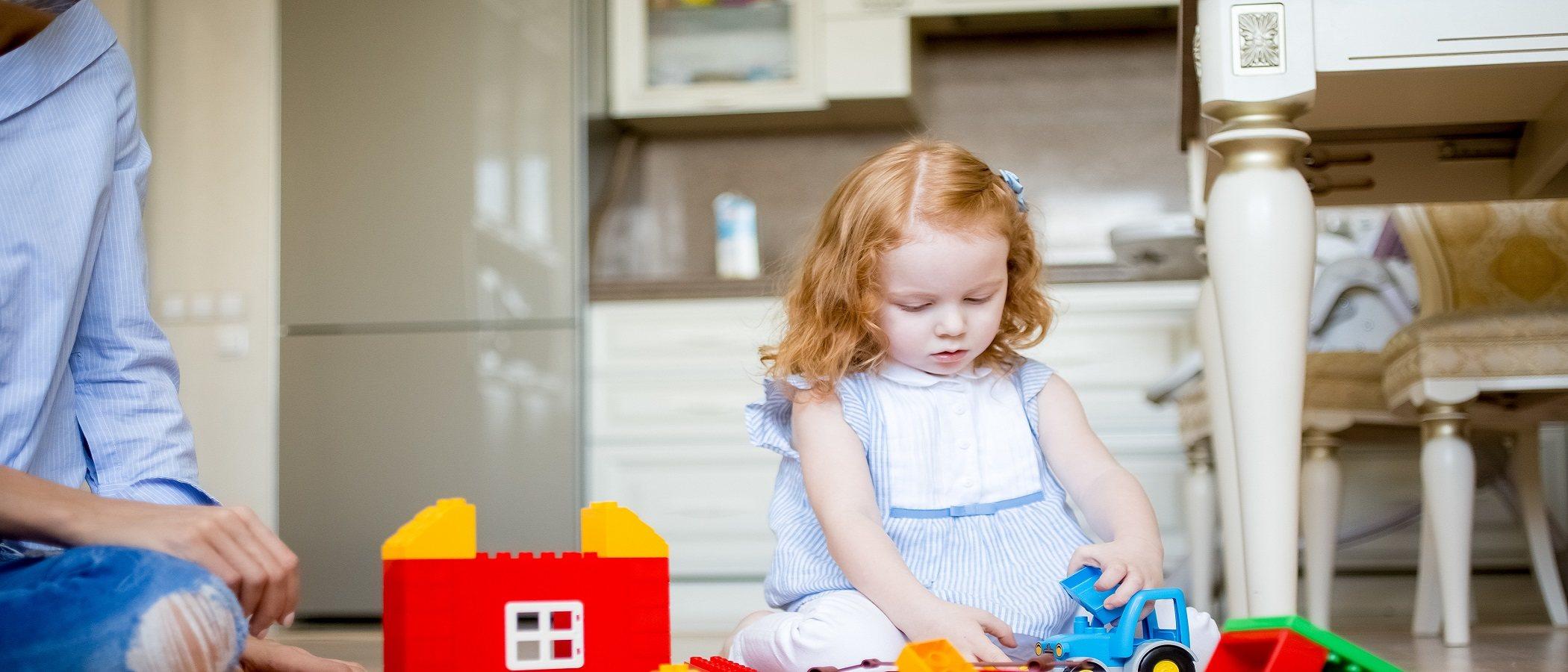 Fomentar el juego constructivo en los niños pequeños