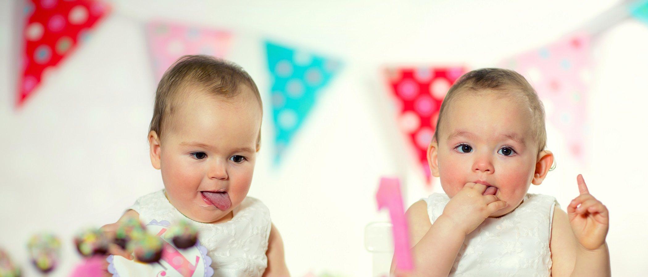 Celebrar cumpleaños de gemelos y que sea especial para cada uno