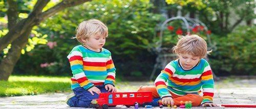 Juguetes ideales para gemelos, mellizos o trillizos