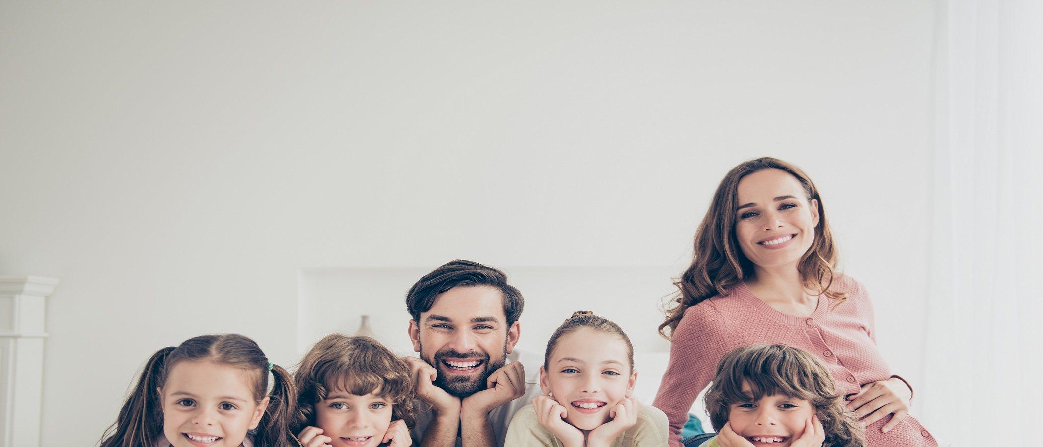 ¿Es mejor una familia numerosa?