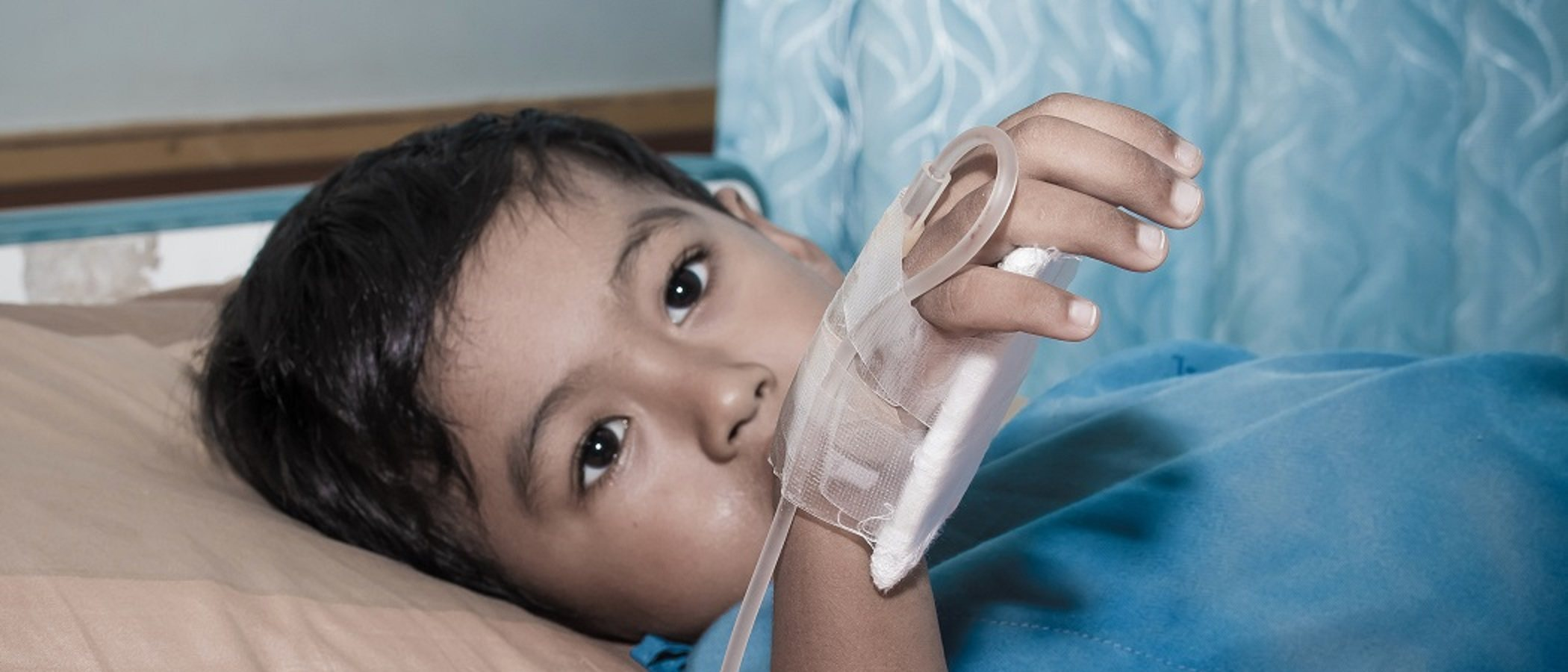 Síntomas de deshidratación en un niño menor de 2 años
