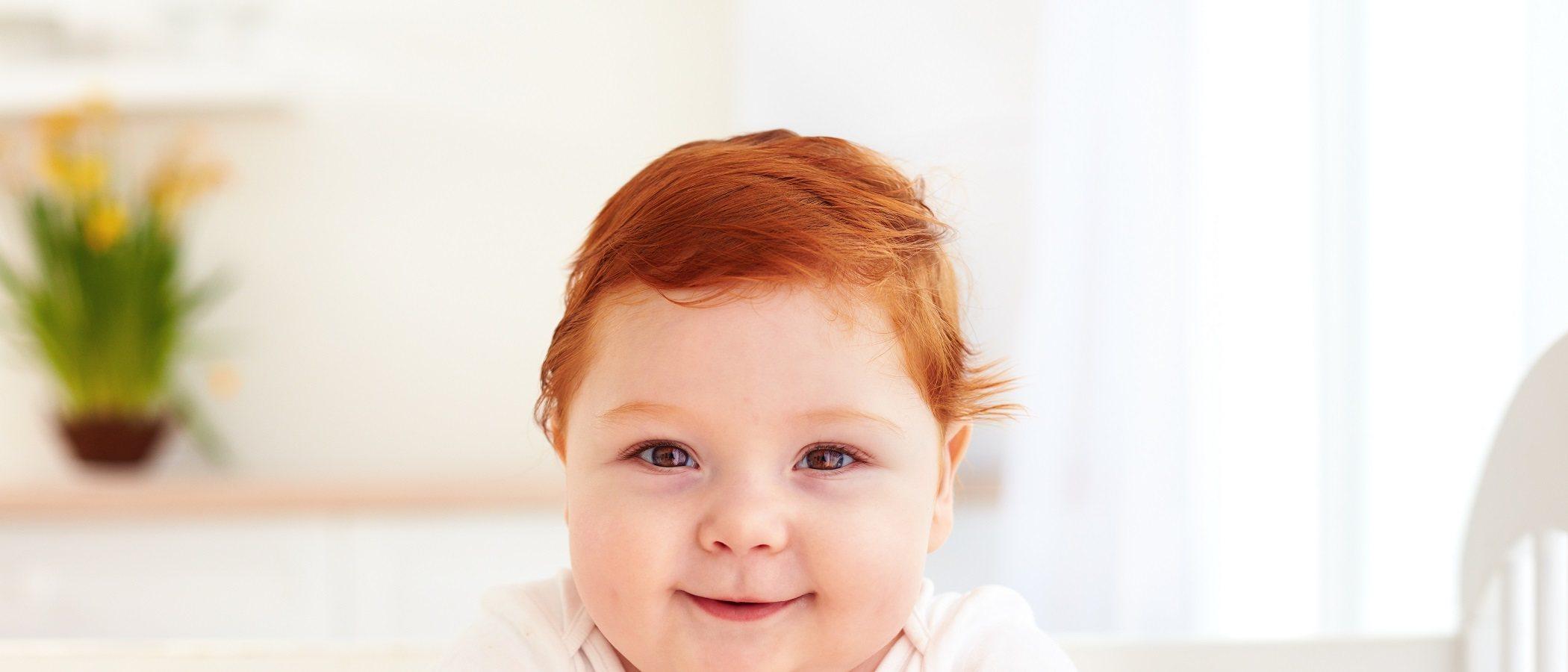 ¿Tu bebé será pelirrojo?