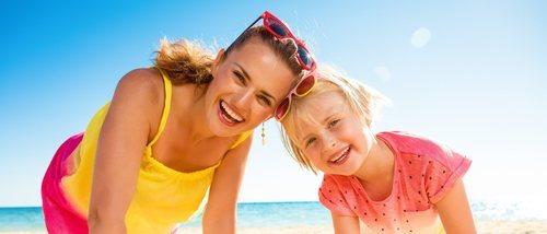 Cómo ser un buen modelo de madre para tu hija