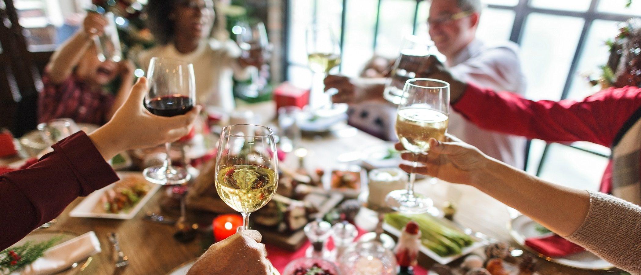 Cómo controlar los excesos en la dieta familiar en Navidad