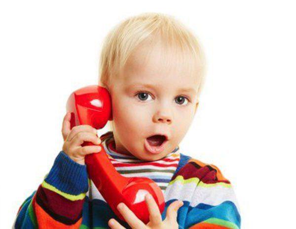 Bebe Hablando Por Telefono: ¿Cómo Aprenden Los Niños A Hablar?