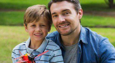 Celebrar el Día del Padre con los hijos de tu pareja