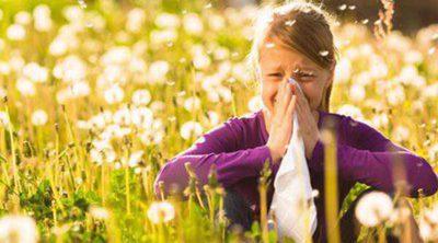 Los niños y la alergia al polen