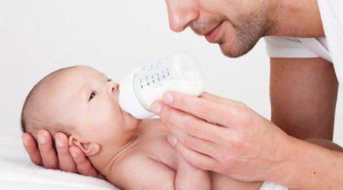 ¿Cuándo empezar a dar leche de vaca a un bebé?