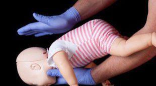 Primeros auxilios en caso de asfixia en un bebé