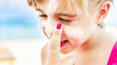 Cuidar la piel seca en niños