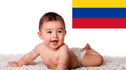 Los nombres de bebé más populares en Colombia