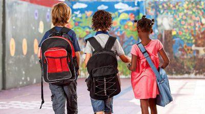 El primer día de colegio en educación primaria