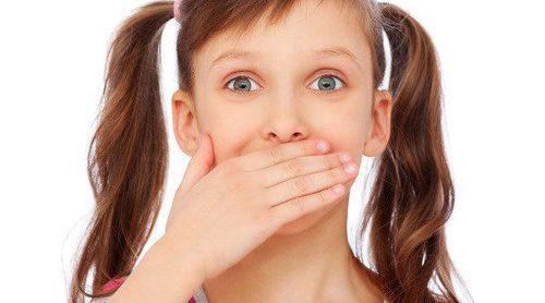 Causas del mal aliento en los niños