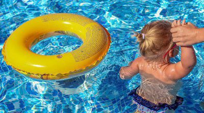 Ahogamiento secundario en niños