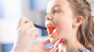 Amigdalitis en niños