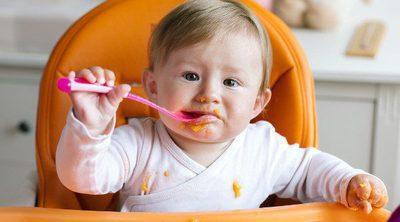 La alimentación del bebé a los 8 meses