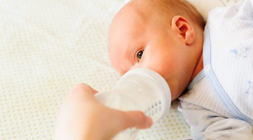 La alimentación del bebé de 1 a 3 meses