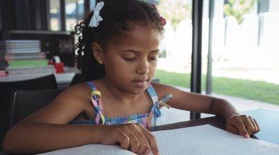 La educación de un niño con ceguera