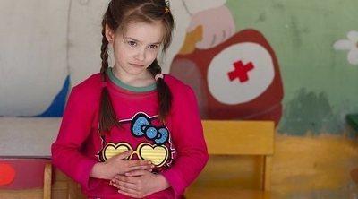 El virus del estómago en los niños