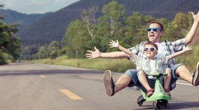 Enseña a tus hijos a mantener un buen humor