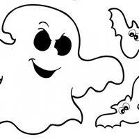 Fantasma con murciélagos