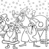 Colección de Papás Noel