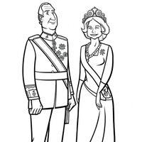 Rey Juan Carlos y Reina Sofía