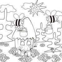 Abejas con miel