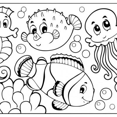 Vector De Los Pescados De La Aguja Personaje De Dibujos - Dibujos De ...