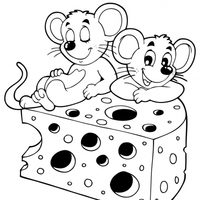 Ratones en el queso