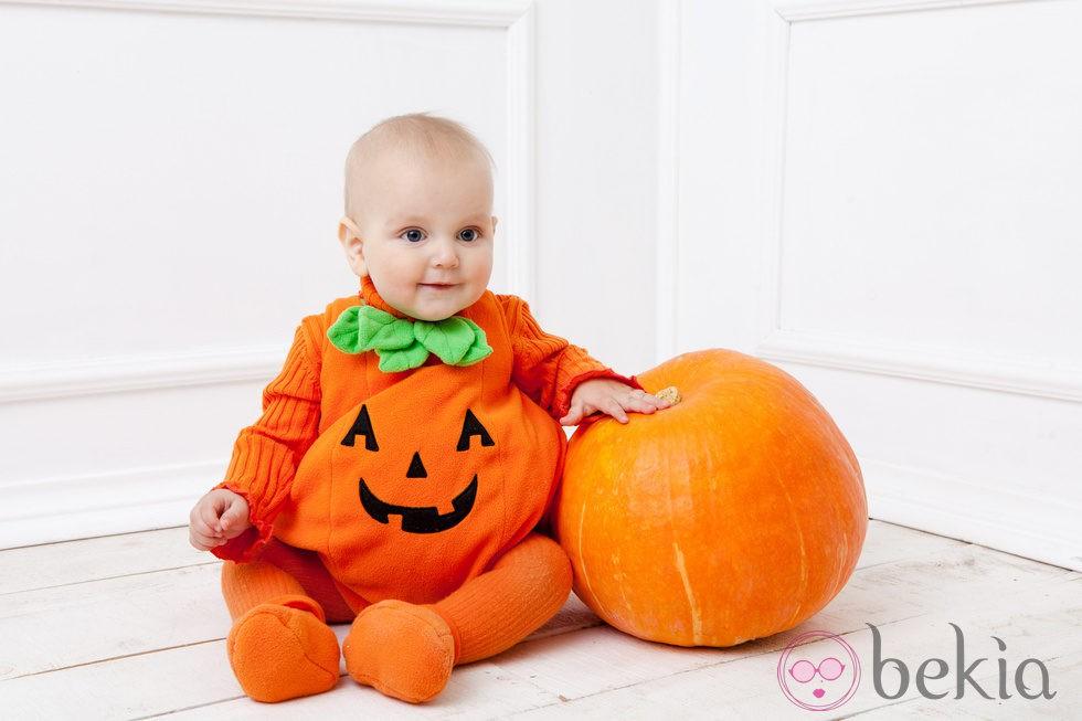Disfraz de calabaza para halloween disfraces de ni os para halloween en bekia padres - Disfraces de halloween bebes ...
