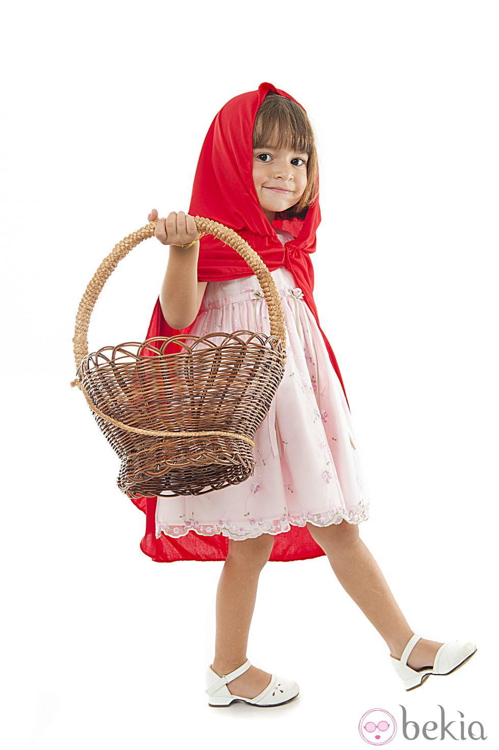 Disfraz de caperucita roja para ni a disfraces de ni os - Disfraces para bebes nina ...