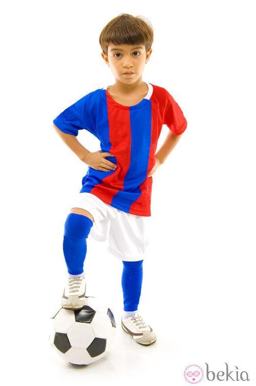 Disfraz de futbolista para Halloween