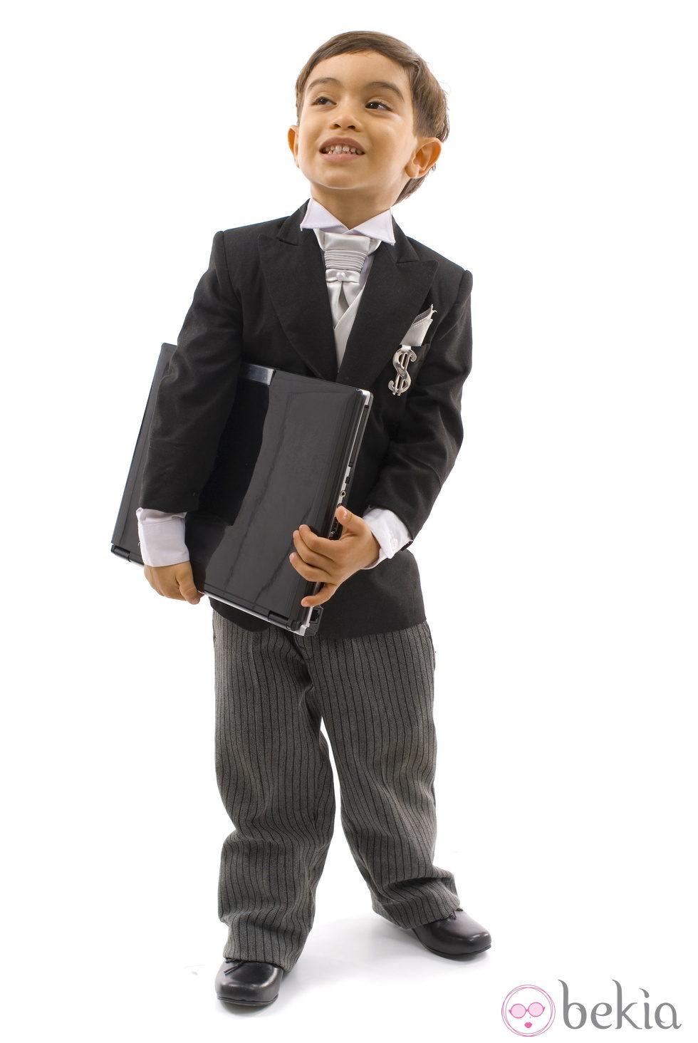 Disfraz de ejecutivo para ni o disfraces de ni os para - Disfraz de navidad para bebes ...