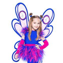 Disfraz de mariposa para niña