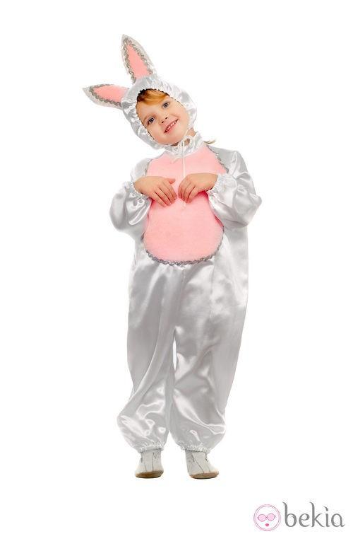 Disfraz de conejo para Halloween